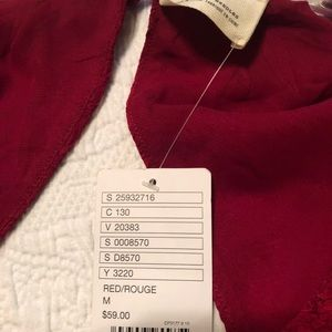 Dresses & Skirts - Cute red dress never worn new with tag